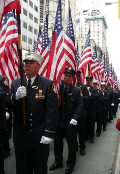 NYC - SEPTEMBER 20, 2011 - To honor the fallen firemen