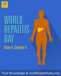 July 28 - World Hepatitis Day