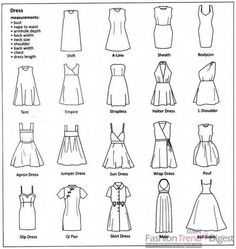 The Ultimate Clothing Style Guide - FREE SEWING PATTERNS AND TUTORIALS | On the Cutting Floor #fashionsewing,