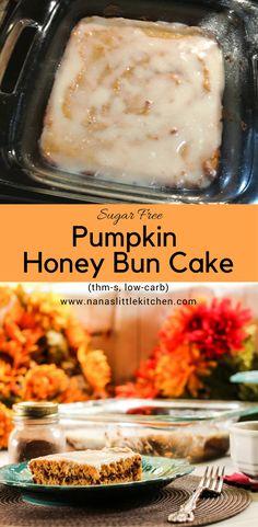 Pumpkin Honey Bun Snack Cake