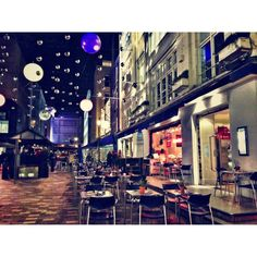 St Christopher's Place, a lovely little haven just off Oxford Street.  Really pretty at Christmas