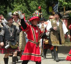 Parade in Castleton, Renaissance Faire at The Castle at Muskogee, Muskogee, OK