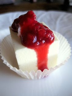 High Protein, Low Carb, cheesecake. I want to make this right now! I'd been wondering what would happen if I tried to blend some cottage cheese with cream cheese. Turns out I was on to a fantastic idea!