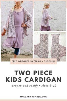Crochet Girls, Cute Crochet, Crochet For Kids, Crochet Yarn, Dishcloth Crochet, Crochet Children, Mandala Crochet, Crochet Afghans, Crochet Blankets