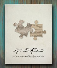 Pride and Prejudice Quote We seem to have been designed for eachother Personalized Print 8 x 10. $20.00, via Etsy.