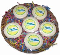 Personalize cookies for corporate gifts and promotions.