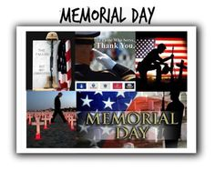 """""""Memorial Day 🇺🇸"""" by easy-dressing ❤ liked on Polyvore featuring art"""