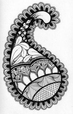 Zentangle-- I'm totally into drawing swirls right now! Zentangle Drawings, Doodles Zentangles, Zentangle Patterns, Doodle Drawings, Doodle Art, Tangle Doodle, Tangle Art, Tatoo Art, Illustration