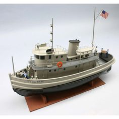 Dumas 1256 US Army 74' ST Tug 1256