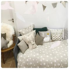 ferm LIVING Kids bedding in organic cotton: http://www.fermliving.com/webshop/shop/kids-room/kids-textiles.aspx