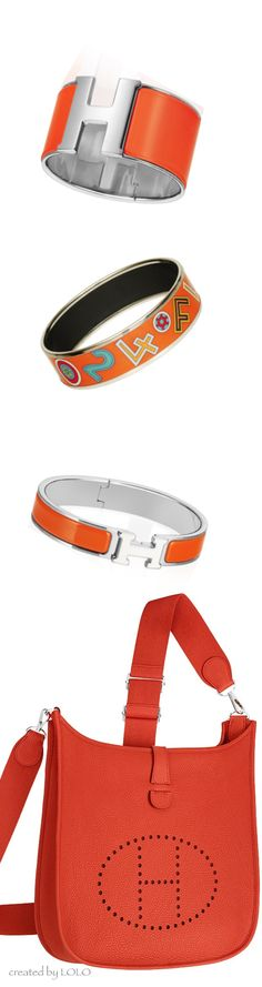 Hermes Evelyne III and its matching accessories..... Sooooo pretty