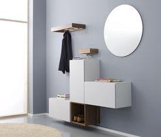 nexus product design for Sudbrock: playful wardrobe and living furniture system nexus. 2008