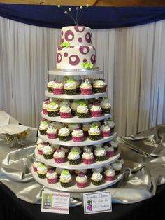 wedding cakes | , silver, and lime green themed wedding. White wedding flavored cake ...