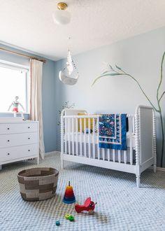 Baby's full nursery reveal - The House That Lars Built via @deuxpardeuxKIDS