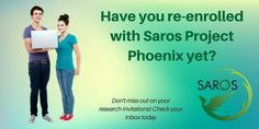 Saros Members - Have you Re-Registered?