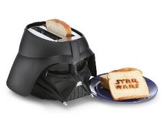 Star Wars Darth Vader Toaster - Attention Star Wars fans, introducing this cool Star Wars Darth Vader toaster. You may have seen Star Wars toasters before but none as menacing as this kitchen gadget