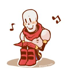 Undertale-Papyrus by Mikoto-chan