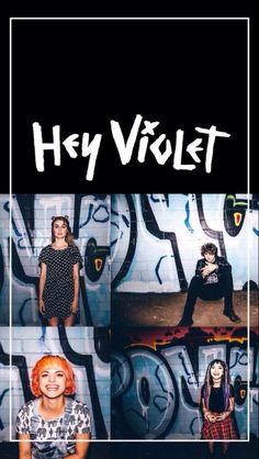 Hey Violet Wallpaper - from Twitter - @dailylxckscreen