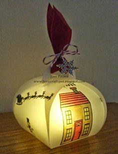 ... Demonstrator - Teri Pocock: Stampin' Up! Curvy Keepsake Box - Lantern