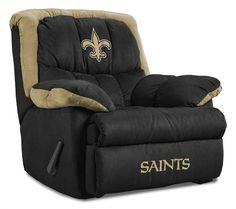 new orleans saints homes   New Orleans Saints Home Team Recliner