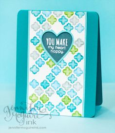 August 2013 Video: Stencils   Distress Markers   Simon Says Stamp August 2013 Card Kit Blog Hop
