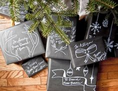 Easy Giftwrap Ideas that will wow