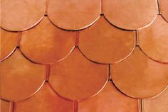 Copper Asphalt Roofing Tile Seires---Fish-scale Copper Roofing Tiles, new construction materials, excellent choice for the roofing of your house. go to www.grgm.com.cn/..., or mail to service@grsjgm.com.