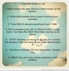 7 rules of life pdf