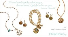sophia and chloe jewelry by nathalie sherman sure does know how to make beautiful things help others!