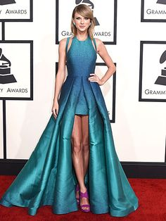 Taylor found her style holy grail: A gown that indulges her princess instincts as well as her love of showing off her ...