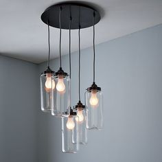"""Please try to imagine these with """"Edison bulbs"""" inside of them, instead of the more modern frosted bulbs pictured here."""