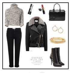 """""""Rain day"""" by sensiiii on Polyvore featuring Reiss, Brunello Cucinelli, Yves Saint Laurent, Current/Elliott, Balmain, Chanel, Christian Dior, Nordstrom and Kate Spade"""