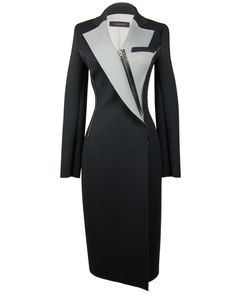 The Neoprene Coat by Jarret on portemode.com