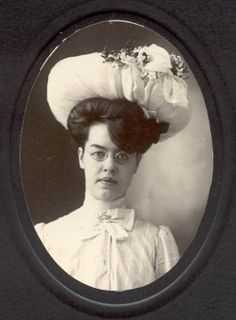 Unknown Woman, early 1900's
