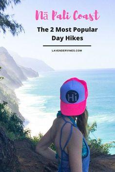 Hiking the Na Pali Coast | Kalalau Trail | Ke'e Beach to Hanakapi'ai Beach | Ke'e Beach to Hanakapi'ai Falls | Kauai, Hawaii #kauai #hawaii #hike