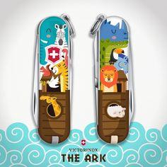 """The Ark"" Illustration for Victorinox by jovoto creative, DIZAINI - https://www.jovoto.com/blog/creatives/victorinox-2017-awards/?utm_source=pinterest.com&utm_campaign=cm16joblog&utm_medium=social&utm_content=pin_victorinoxwinners"