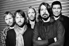 Foo Fighters- Members are David Grohl (lead vocals and guitar), Nate Mendel (bass guitar), Chris Shiflett (guitar, background vocals), and Taylor Hawkins (drums, percussion, vocals) and  Pat Smear (guitar),
