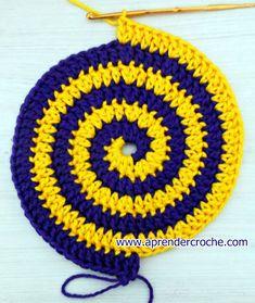 aprender croche espiral blacklist edinir-croche dvd loja curso de croche
