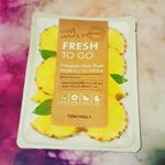 Giving the @tonymoly_street fresh to go sheet masks another chance😂 This is the pineapple one and it does have a strong pineapple scent. This mask is thin, soaked with essence. Some the essence drops down my neck and the mask tries to slip down my face😅 the mask irritated my skin a little after 15 minutes so I took it off, I don't think I will be using any fresh to go sheet masks again😬 #beauty #skincare #koreanskincare #koreanbeauty #sheetmask #sheetmaskreview Sheet Mask, Korean Skincare, Korean Beauty, Giving, Masks, Pineapple, Strong, Fresh, Face