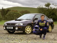 """#Subaru Impreza Turbo """"McRae Series"""" (GC8) '1997 man McRae was a freakin legend!!!! RIP"""