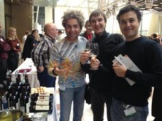 Some guests at our stand for Italian Wines' Summit - November 2012, Moscow