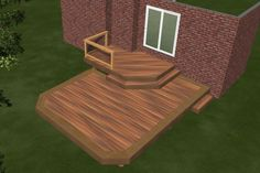 small deck ideas for mobile homes.Just because you have a tiny backyard doesn't suggest you can't have a stylish deck. Learn the building demands and also Building A Floating Deck, Building A Deck, Deck Railing Design, Patio Design, Deck Ideas Townhouse, Small Deck Ideas On A Budget, 2 Tier Deck Ideas, Diy Deck, Diy Gazebo