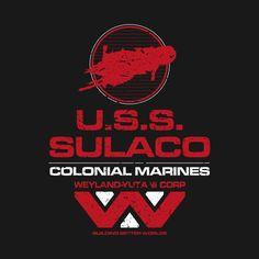 USS SULACO #aliens #weyland-yutani # colonial marines