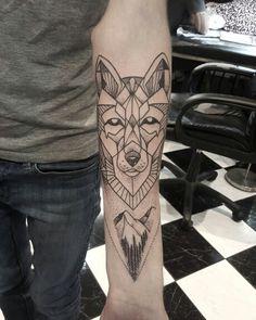 Geometry wolf - customers design