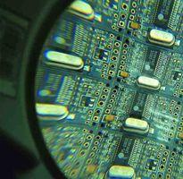 PCBA under Magnifier