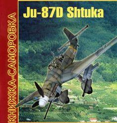 WWII Junkers Ju 87D Stuka Free Aircraft Paper Model Download…