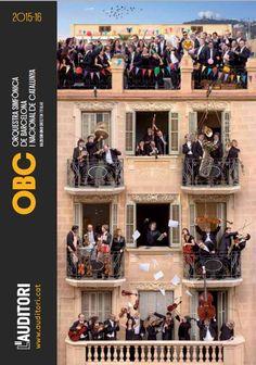 Temporada 2015-2016 de l'Orquestra Simfònica de Barcelona i Nacional de Catalunya (OBC). L'Auditori (Barcelona) i altres espais. Setembre 2015 - juny 2016