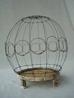 bird cage  by jillanita, via Flickr
