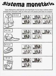 English Lessons For Kids, Teaching, Professor, Logan, Money Activities, Texts, Math Worksheets, Math Lessons, Fun Math Activities