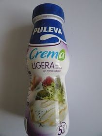 La Cocina de Mery a Dieta: CREMA LIGERA / 4 PROPOINTS POR 175 ML